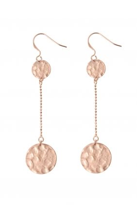 rose gold plated  #earrings I designed for NEW ONE I NEWONE-SHOP.COM