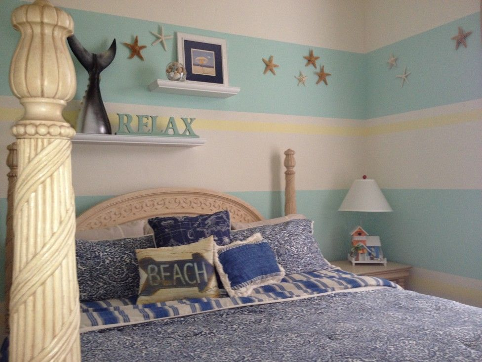 Cool Beach Themed Room Beach Themed Bedrooms Viewing