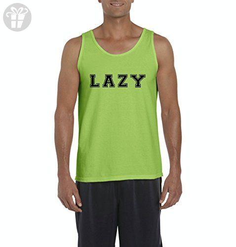 Ugo LAZY Matching Couples Birthday Christmas Family Party Funny Gift w Hats Leggings Men's Tank Top - Birthday shirts (*Amazon Partner-Link)