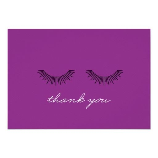 Younique Thank You Note Makeup Brushes Custom Invitation Zazzle