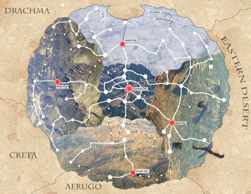Fullmetal Alchemist Map FMA: Amestris   Real World Map by ~ilovefullmetal on deviantART  Fullmetal Alchemist Map