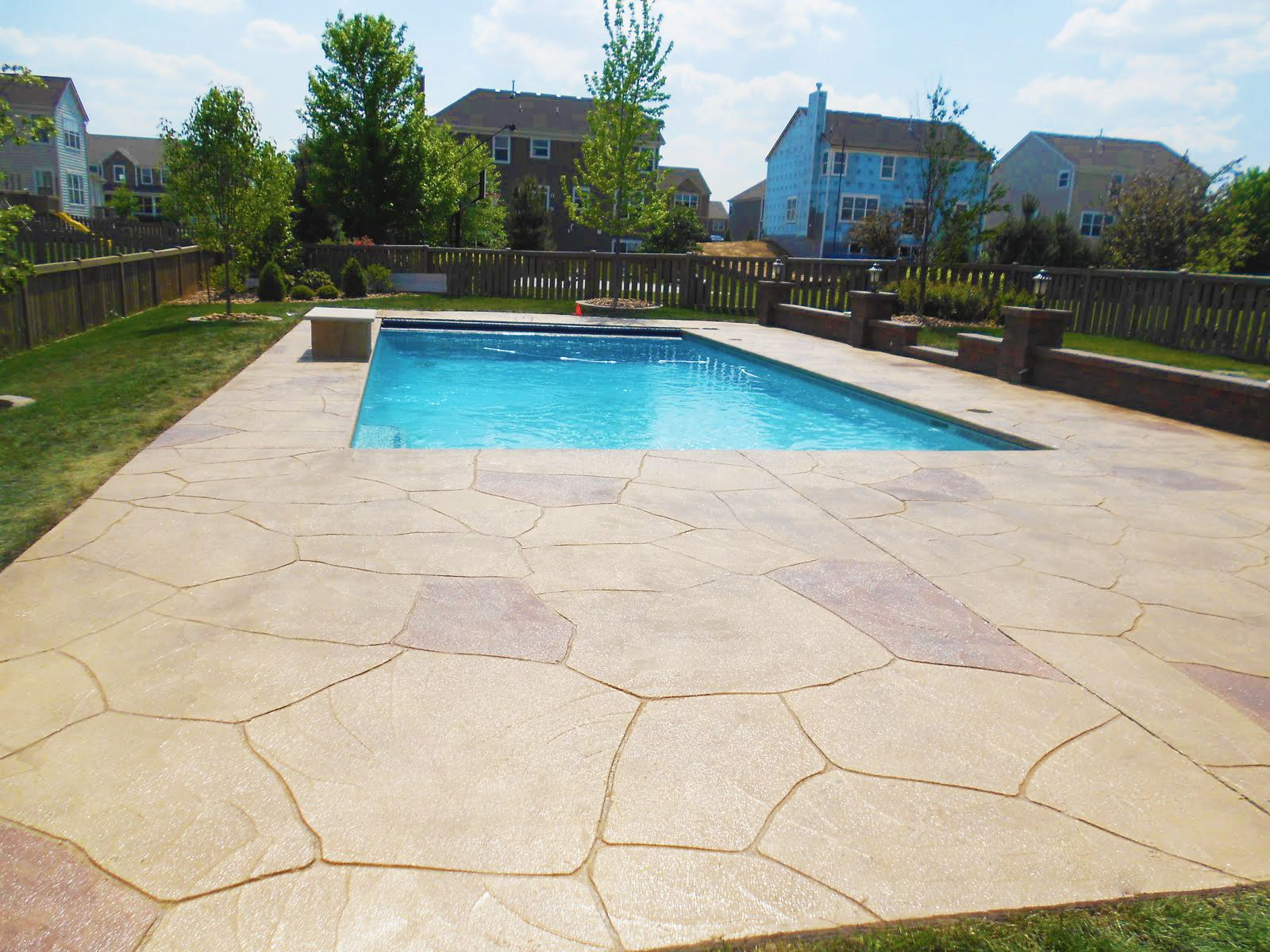 Resurfacing your pool deck is an all around better option than a