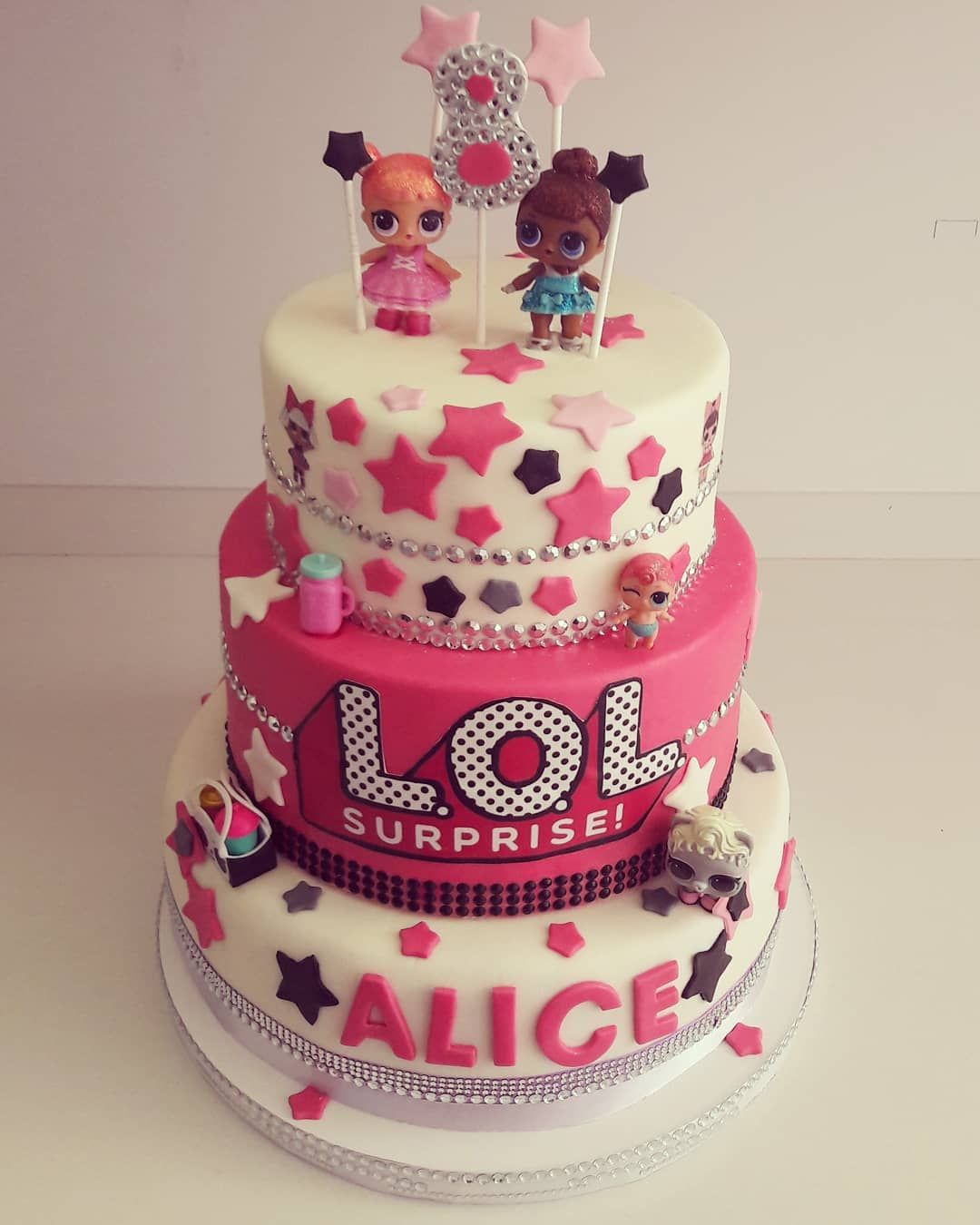 Birthday cake design cake design nel 2019 lol doll