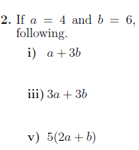 Substituting Into Expressions Worksheet No 2 With Solutions Algebraic Expressions Worksheets Expressions