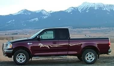 Horse Truck Decals Vehicles Pinterest Truck Decals Ford And - Decals for trucks