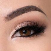Photo of 10 Natural Wedding Makeup Looks | WeddingMix  natural wedding eye makeup #natura…