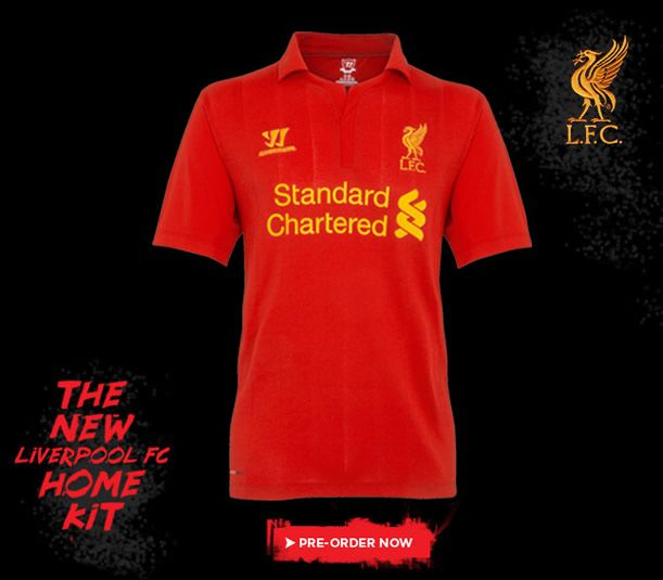 d167314c2 Liverpool 2012-13 Home Kit