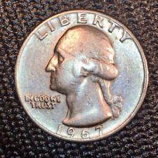 1967 Washington Quarter Error Coin Rare Double Die Obverse