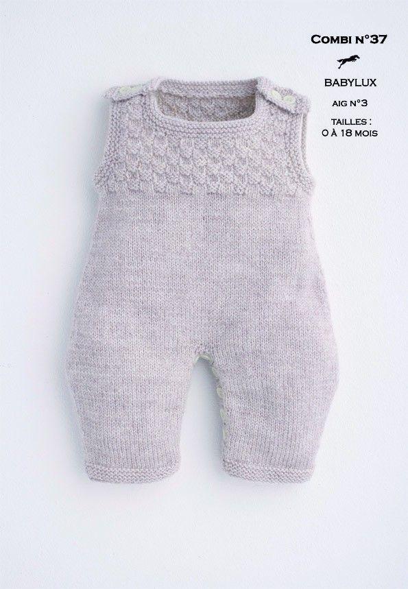Modèle Combinaison CB16-38- Patron tricot gratuit | Tricot ...