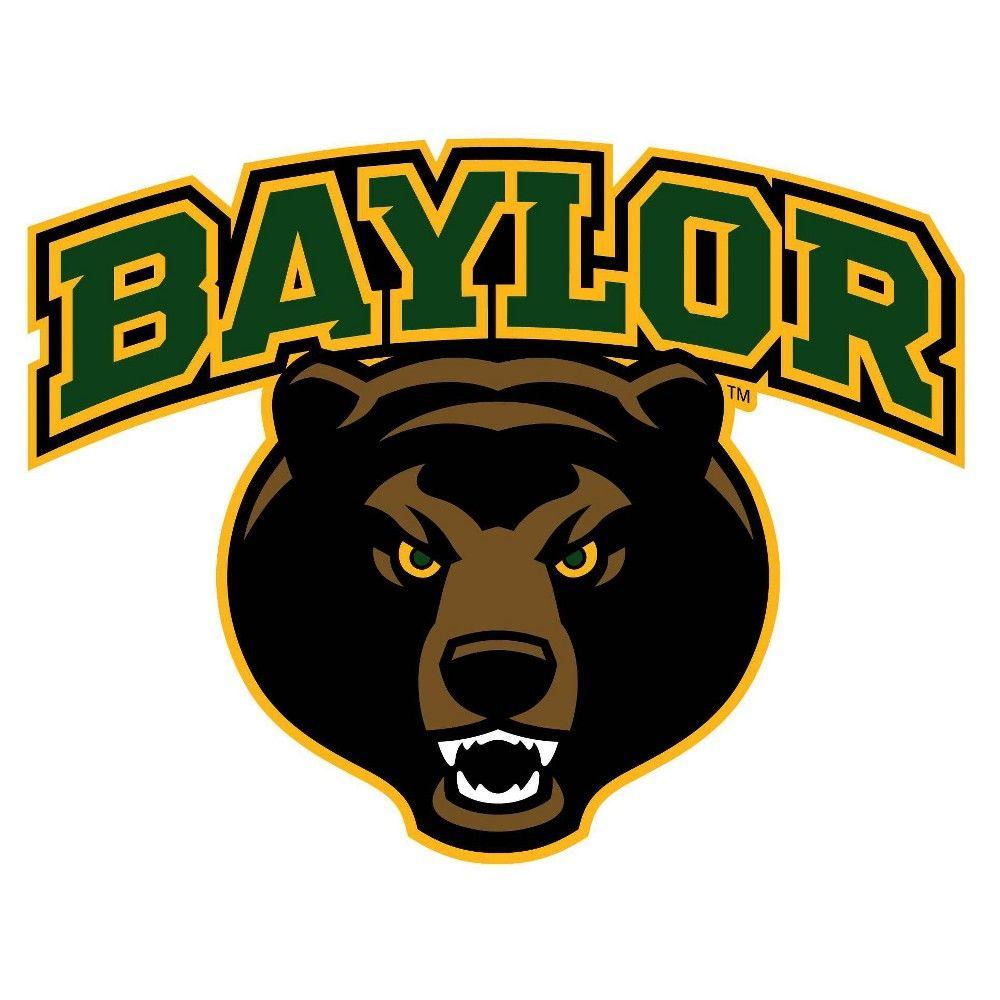 "NCAA Baylor Bears 12"" Logo Outdoor Wall Graphic art in"
