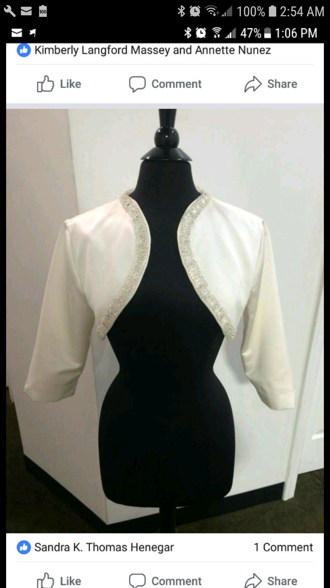 Pin By Sewing And Alterations On My Portfolio Bridal Bolero Fashion Kimberly