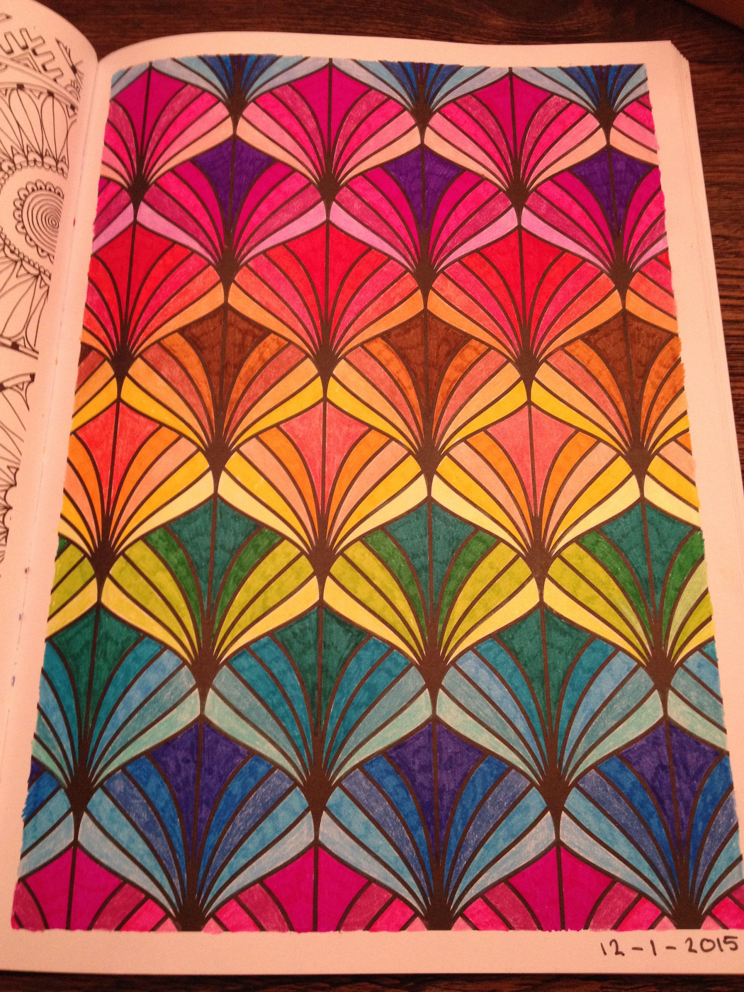 kleurplaat de regenboog mandalas