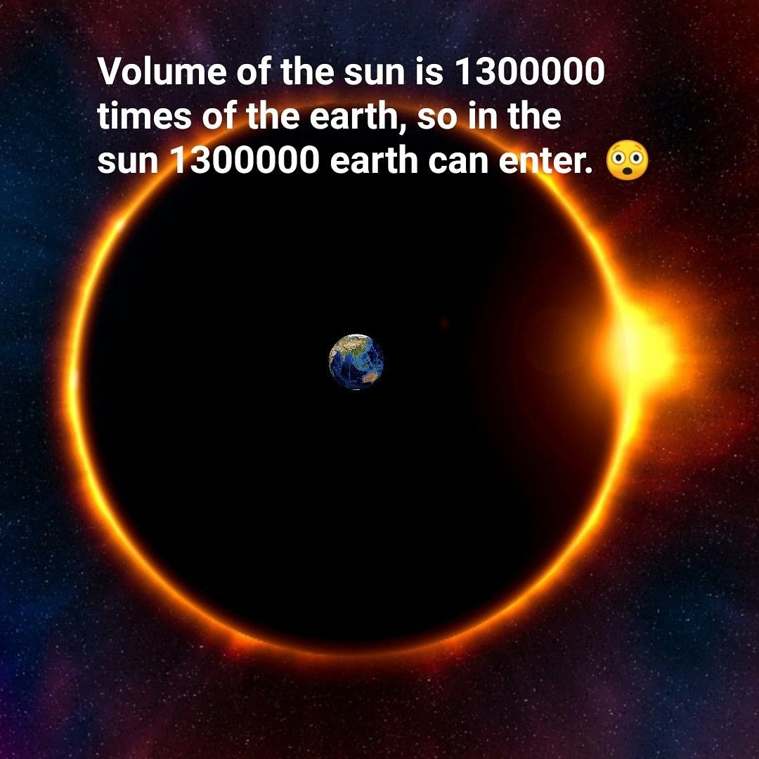 Sun Is Bigger Than Earth Earth Axial Tilt Largest Planet