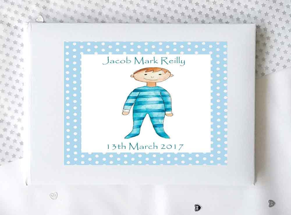 Baby boy gift personalised baby recrd book memory book baby boy gift personalised baby recrd book memory book christening book new negle Image collections