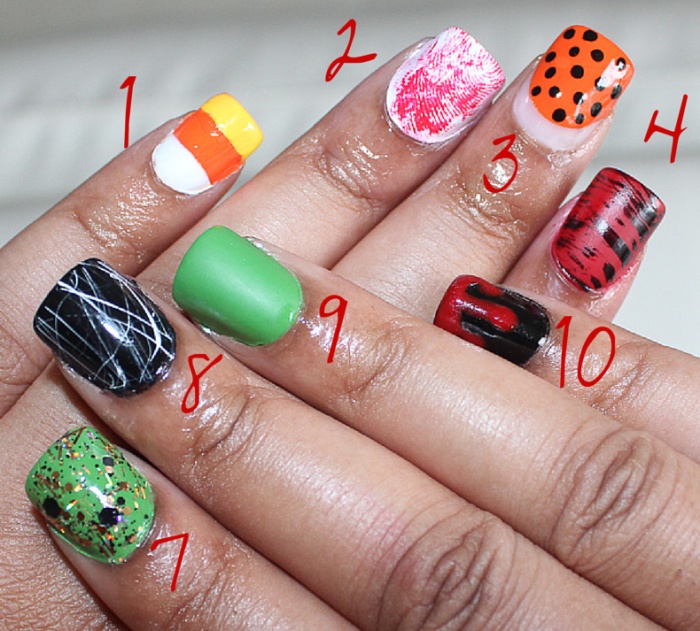 Easy DIY Halloween Nails with Rite Aid Halloween nails