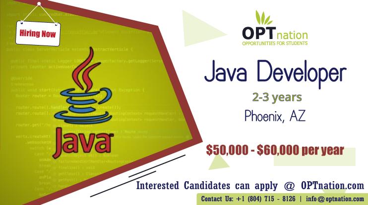 We're Hiring Java Developer in Phoenix, AZ. Build your