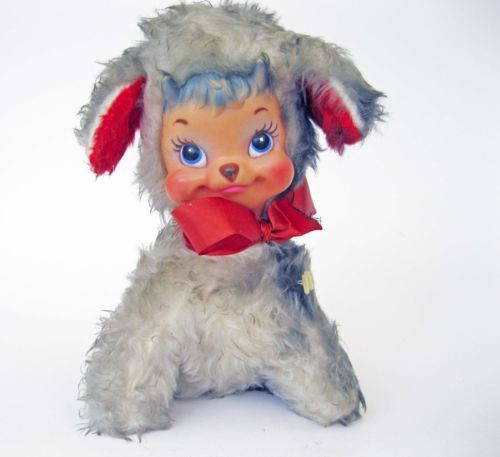 Rare Vintage Rushton Billy Butts Valentine Goat Toy