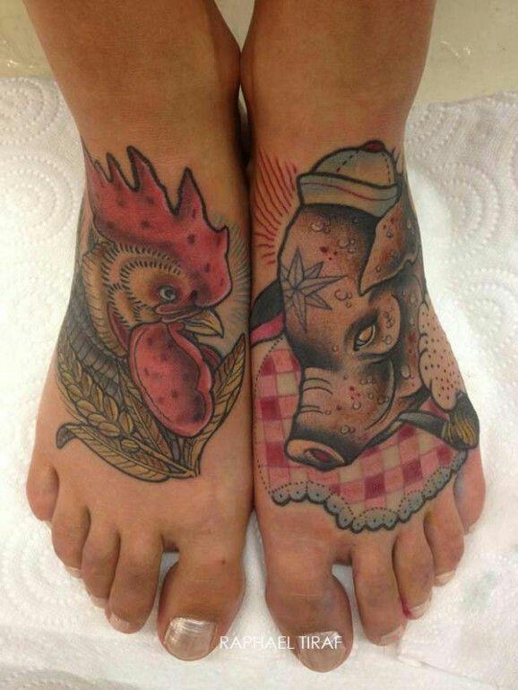 nautical pig n rooster good luck tattoos nautical tattoo designs