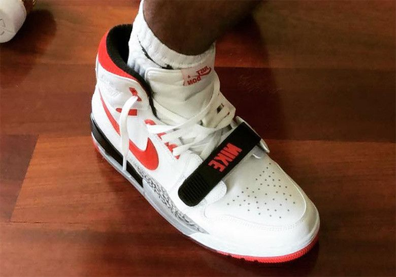 f842ba1a029 Don C Jordan Legacy 312 White Black Red #thatdope #sneakers #luxury #dope  #fashion #trending