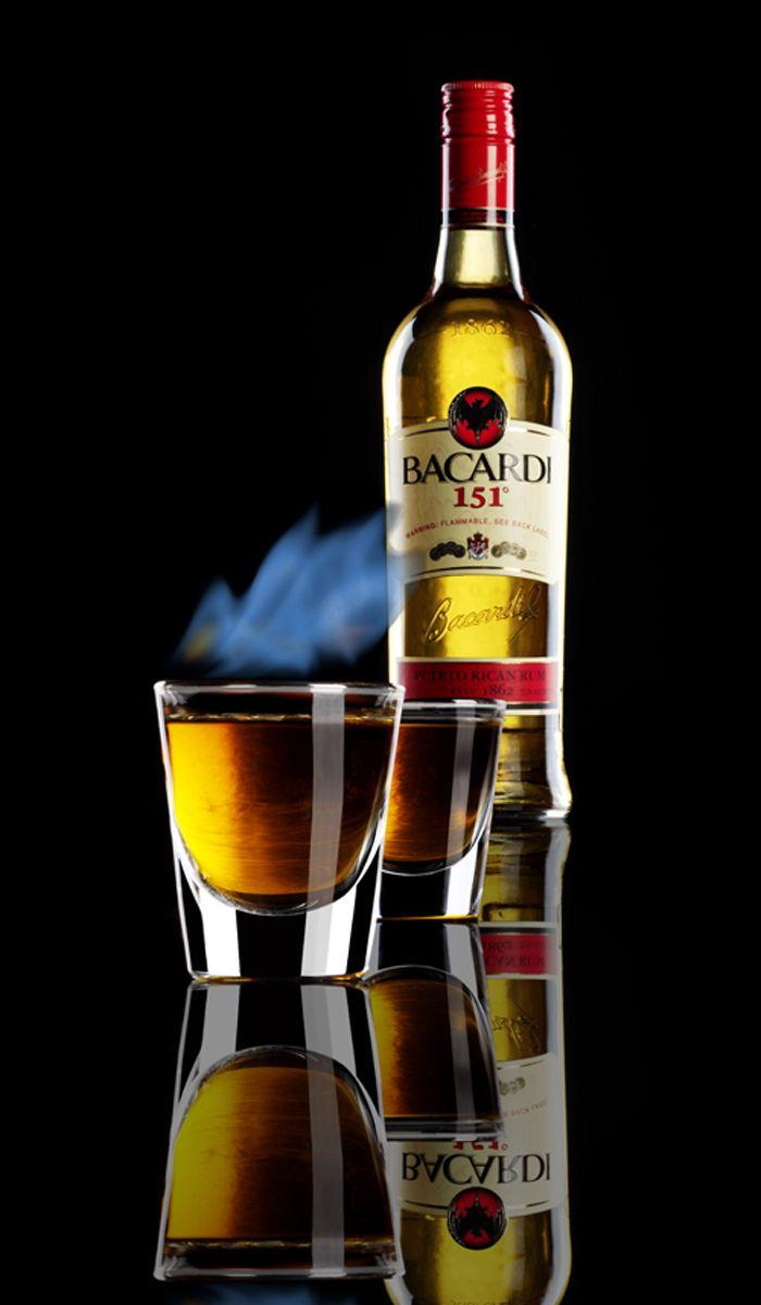 bacardi 151 rum alcohol percentage