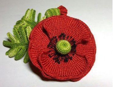 crochet master class, poppy
