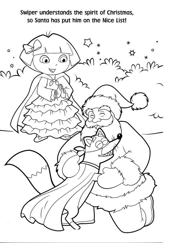 Free-Printable-Dora-Christmas-Coloring-Pages-Picture-58