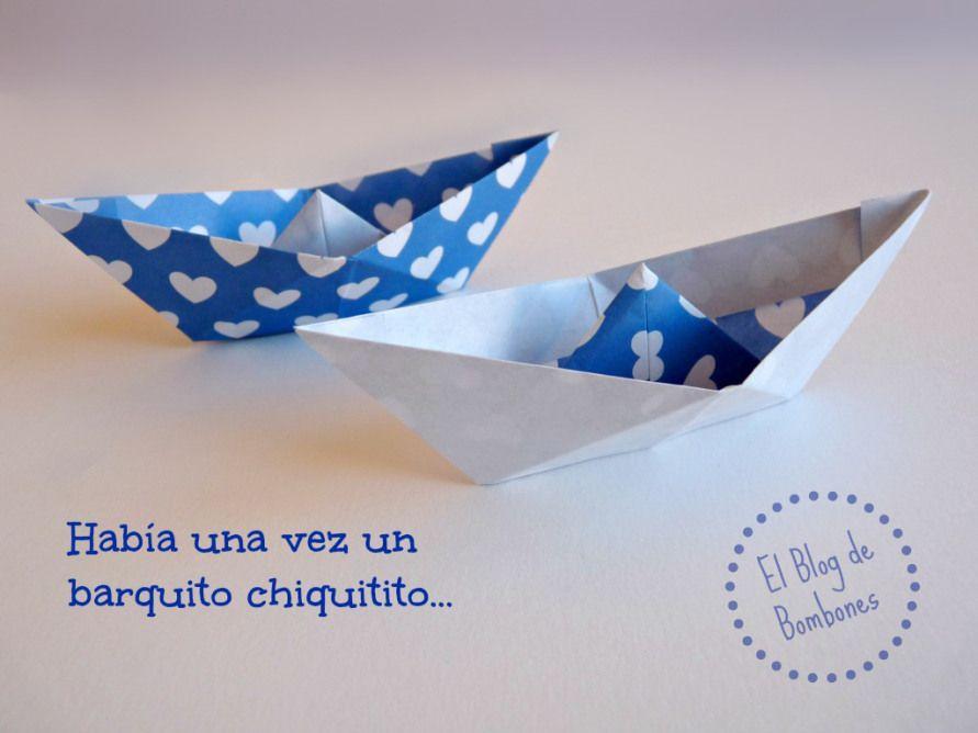 Cómo hacer barcos de papel - origami - papiroflexia