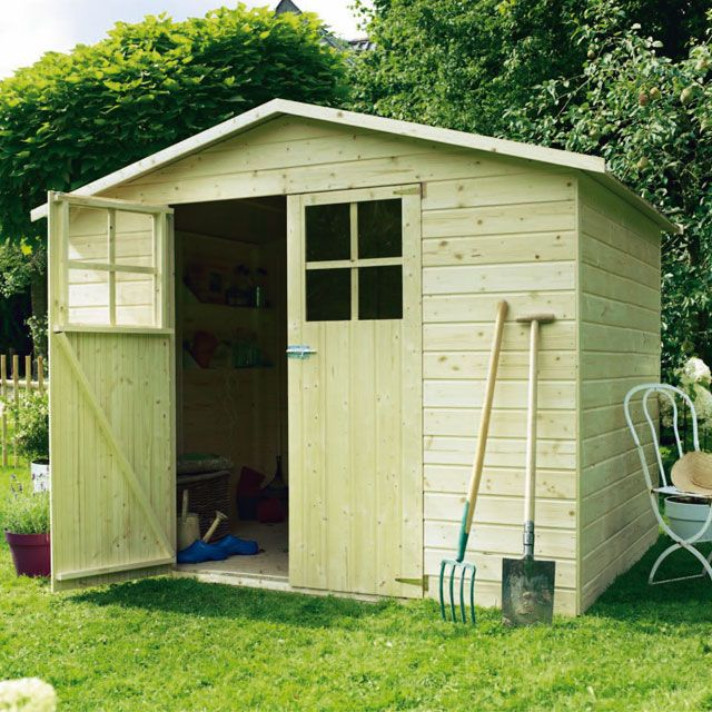 Possible Shower Room Abri De Jardin En Bois Modele Anvers Castorama 309 Euros Houses In France Outdoor Structures Outdoor