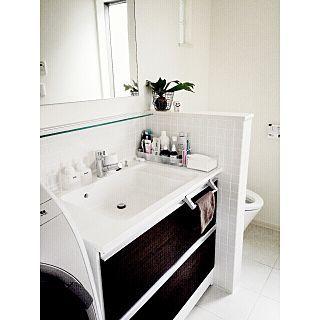 トイレと洗面所が一緒の人気の写真 Roomno 905287 洗面所