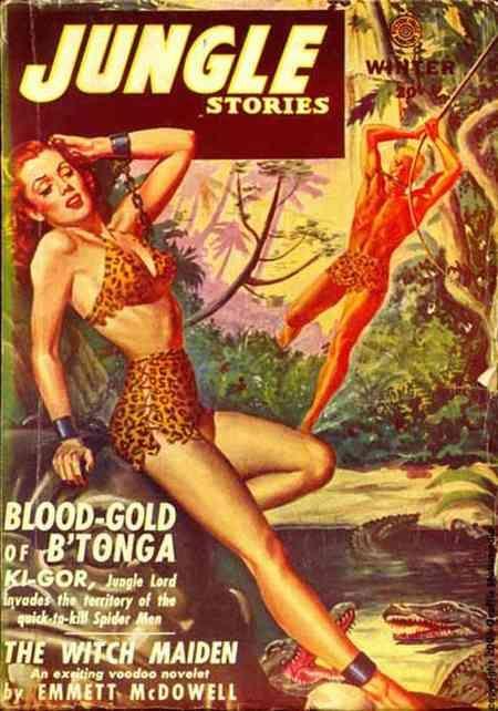 Bondage comic jungle