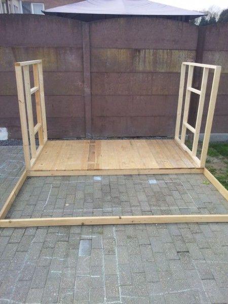 Como hacer una casita de madera con palets casa de for Casa madera infantil