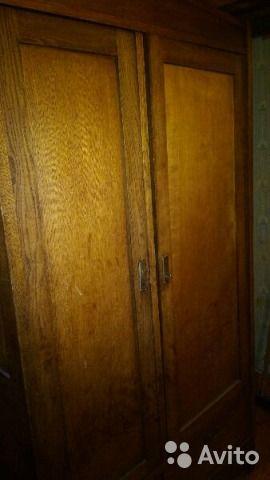 Шкаф старинный, антиквариат почти) — фотография №1