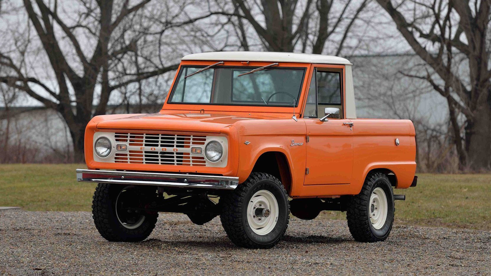 1967 Ford Bronco U14 Half Cab Presented As Lot F63 At Indianapolis In Ford Bronco Classic Bronco Ford Bronco For Sale