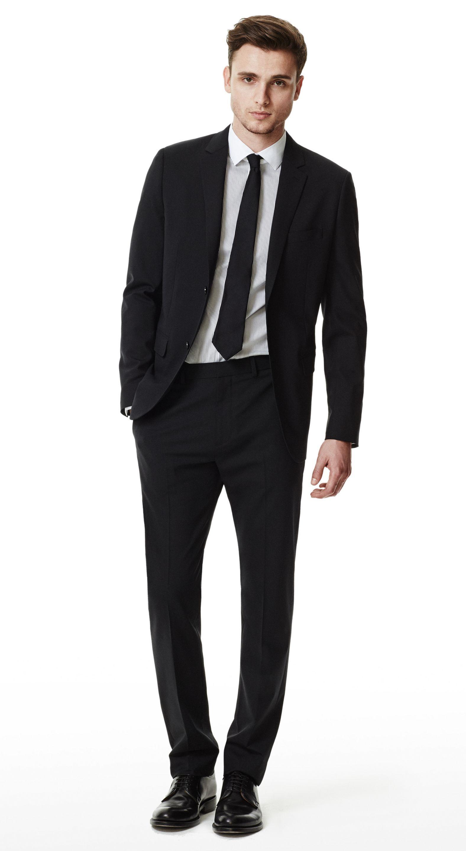 Black Suit Black Tie White Shirt Men S Black Suits Black Suit