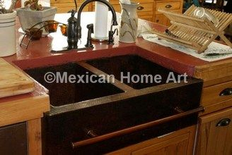 Copper Farmhouse Sink Double Well 50 50 33x22x10 Copper