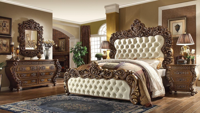 4 Piece St Regis Bedroom Set Traditional Style Bedroom Furniture Bedroom Set King Bedroom Sets