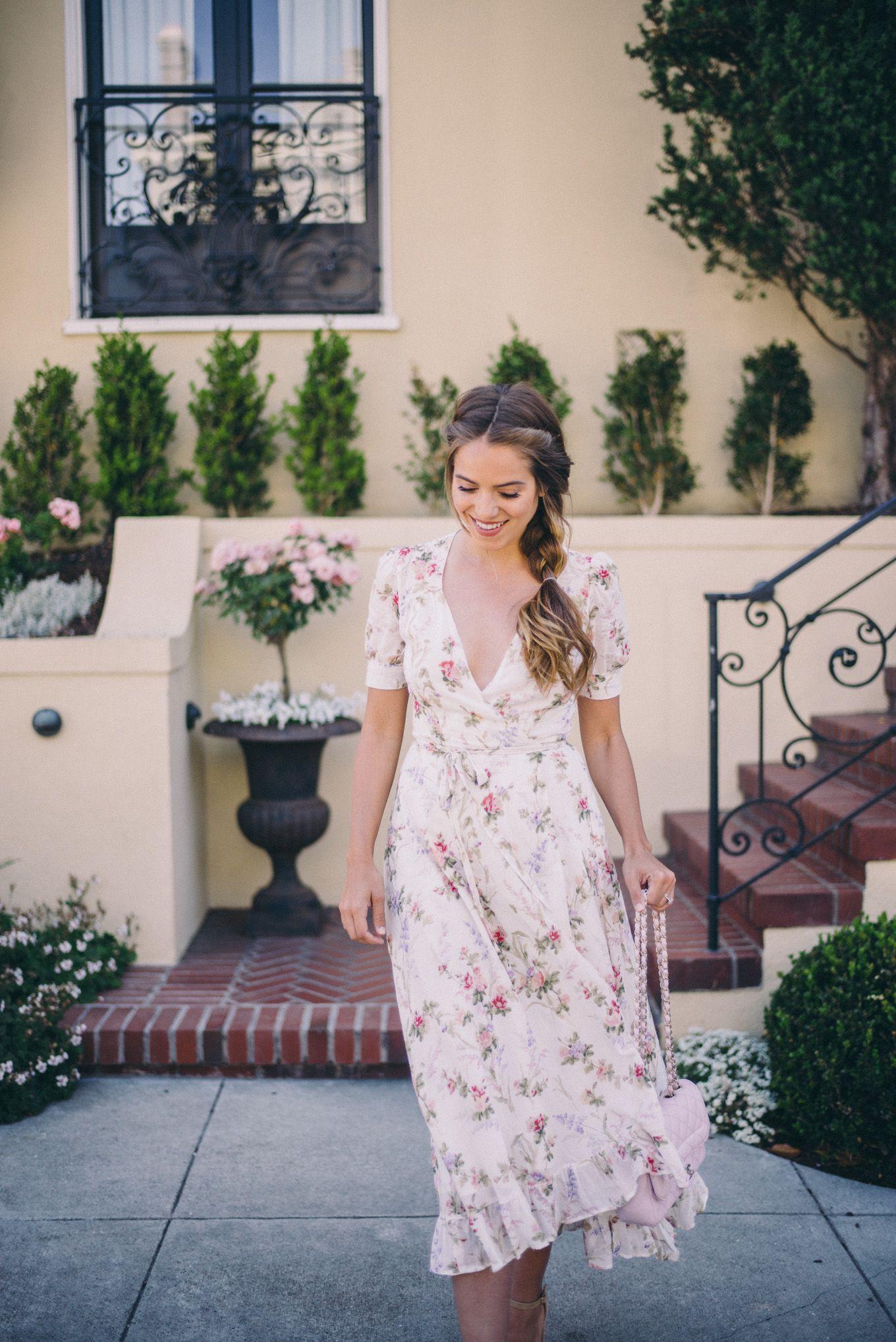 Gal Meets Glam Wedding Guest Dress Ralph Lauren Supply And Steve Madden Heels C O Macy S