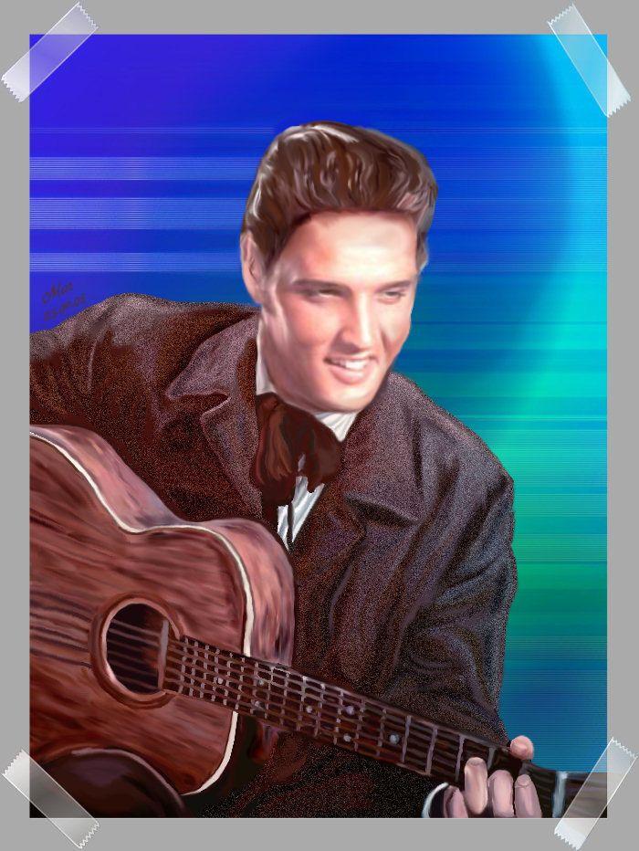 © Mar's Design Digital Elvis Paintings