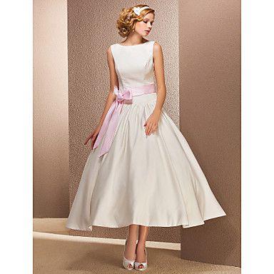 SONIA - kjole til Bryllupskjole i Satin – NOK kr. 980