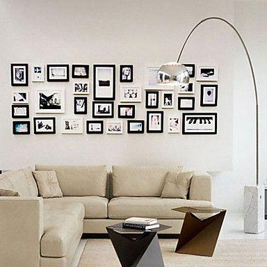 marcos de fotos Galería de collage contemporáneos, conjunto de 31 ...