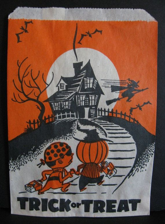 I Loved Getting These In My Bag Filled With Loose Candy And Pennies These Would Not Be Given Today Wi Halloween Paper Vintage Halloween My Childhood Memories