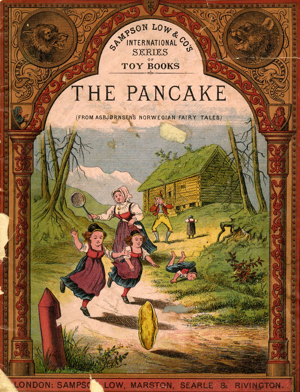 The Pancake Old Children S Books Classic Childrens Books Fairy Tale Books