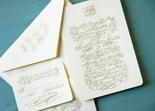 Calligraphy Inspiration Allison R Banks Designs  Wedding