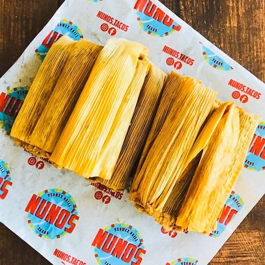 "Christmas Tamales Dallas 2020 NUNO'S TACOS & VegMEX grill 🇲🇽 on Instagram: ""Need vegan tamales"
