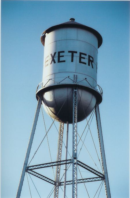 Exeter Ca Christmas Lights 2020 Exeter, CA : Exeter Water Tower | Exeter california, Exeter