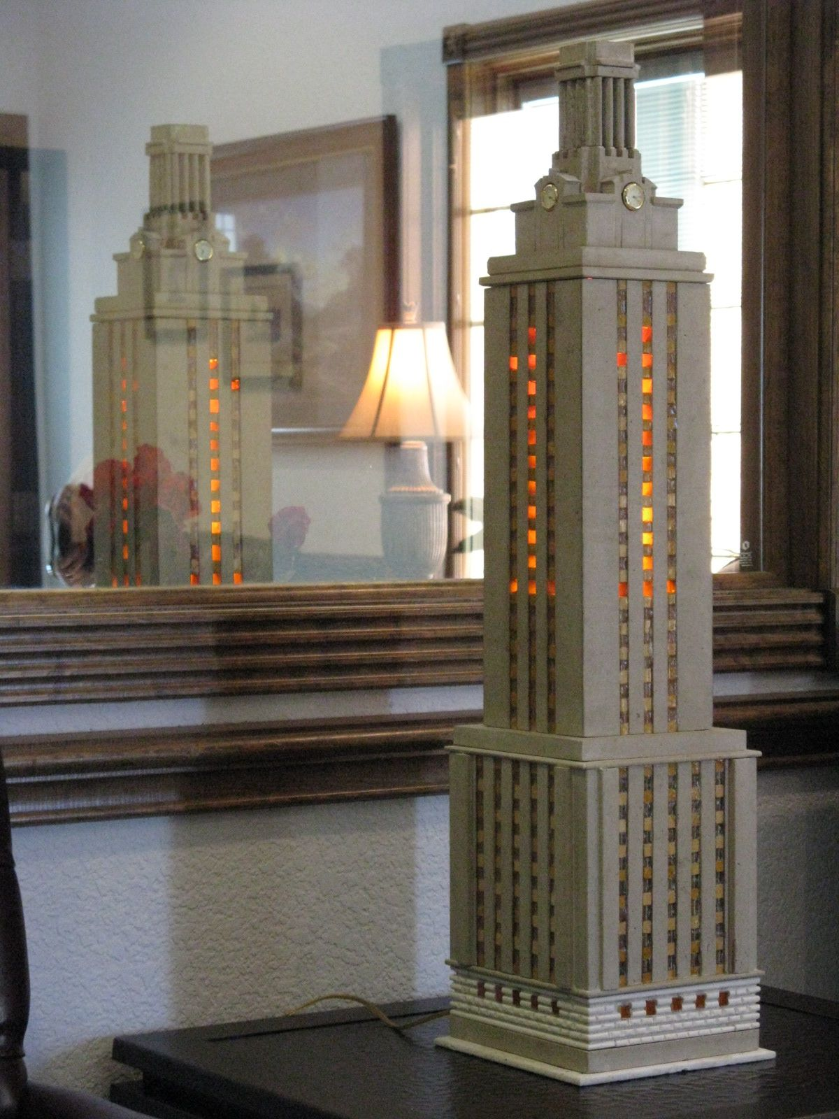 Carved Indiana Limestone Austin S Ut Clock Tower Lamp From