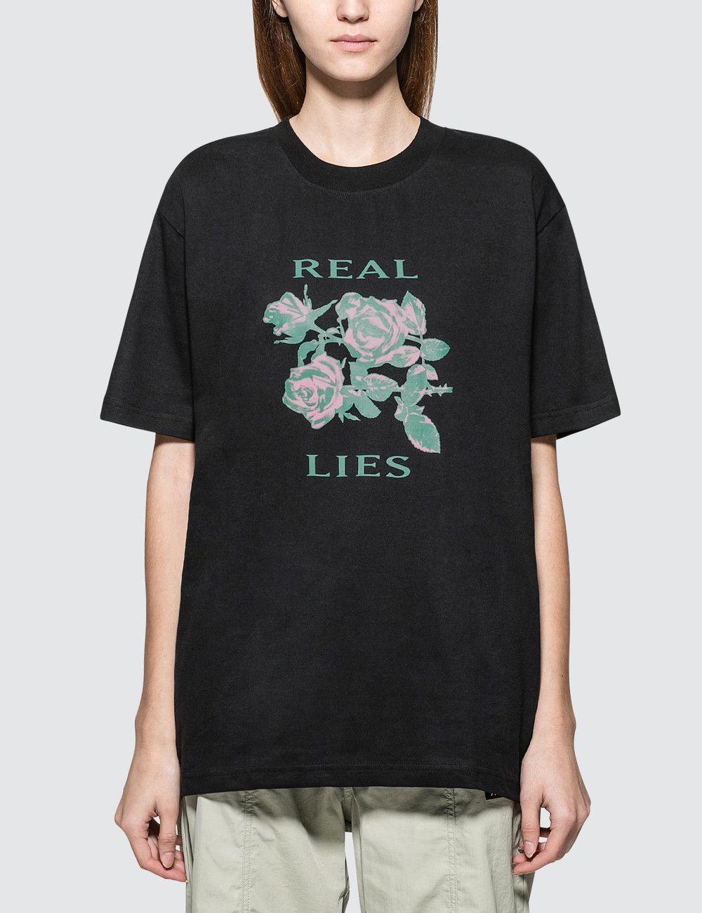 acheter authentique 100% authentique sélectionner pour l'original Real Lies Short Sleeve T-shirt | Sleeves, Shirts, Short sleeves