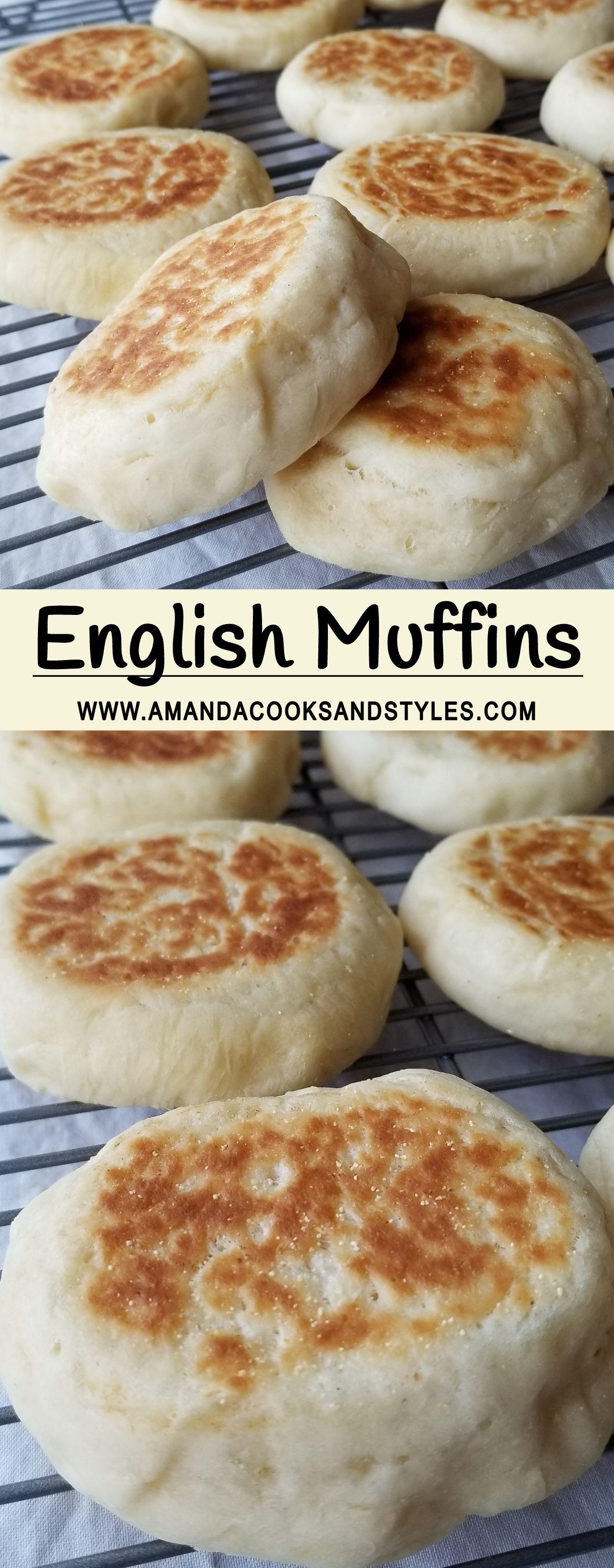 English Muffins Homemade English Muffins English Muffin Recipes Vegan English Muffin Recipe