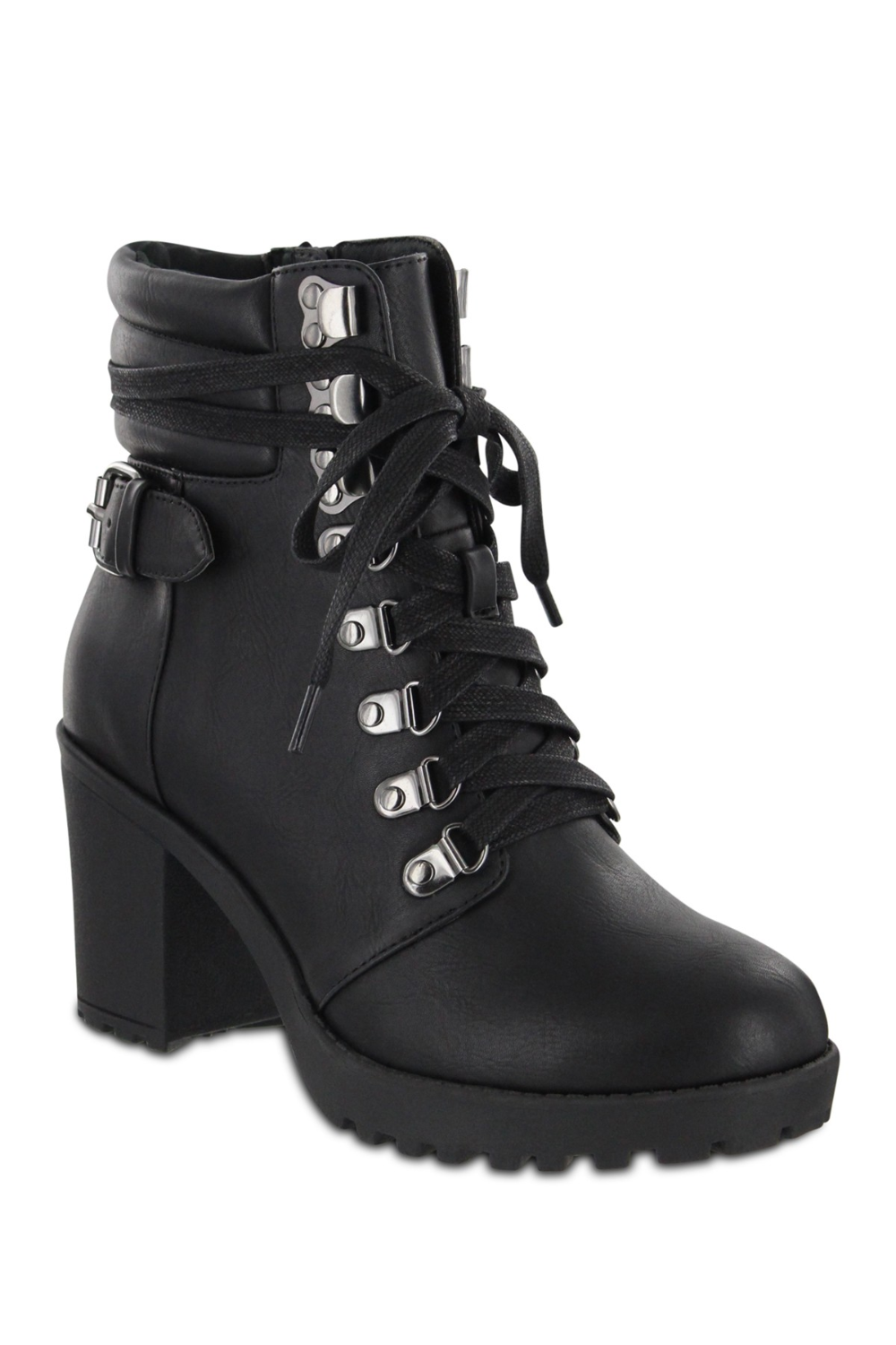 MIA | Floraa Lace-Up Boot | Nordstrom