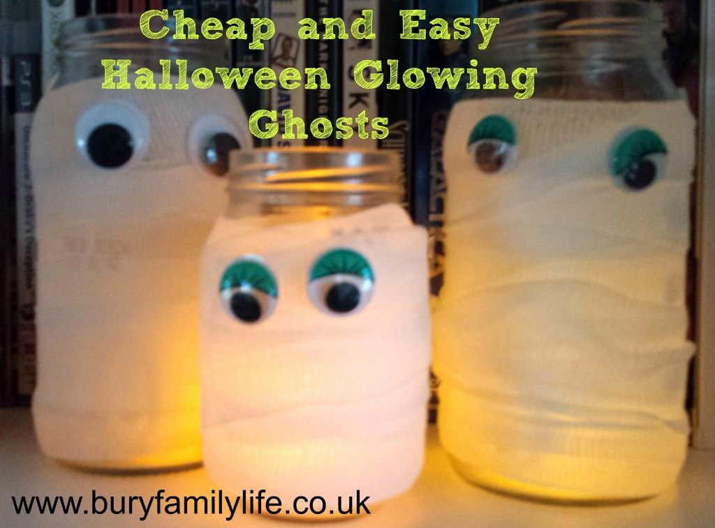 cheap and easy to make halloween decorations httpwwwburyfamilylifeco